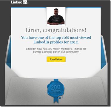 LinkedIn 200 million milestone