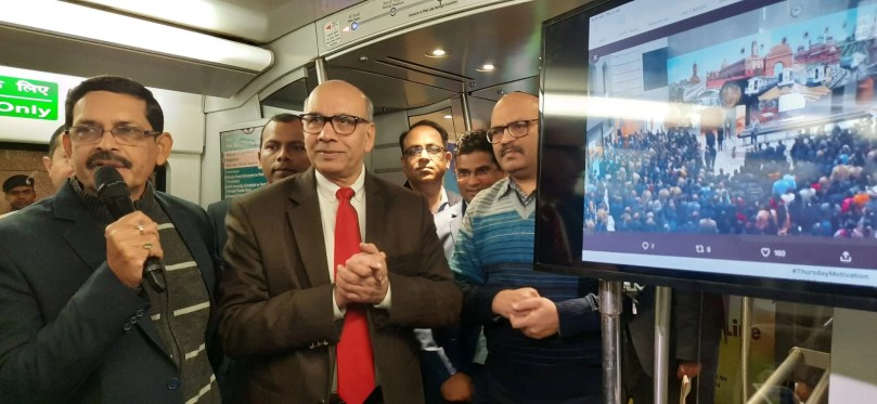 Free Wi-Fi On Moving Delhi Metro- First In India