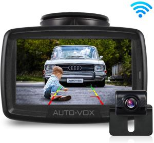 W2 NO Interference Digital Wireless Backup Camera System Kit