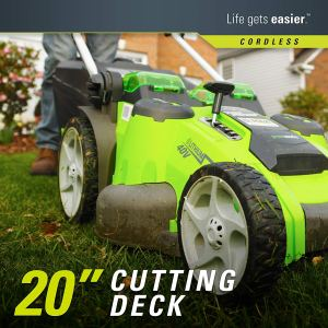 Greenworks 25302 Cutting Deck