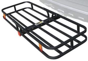 MaxxHaul 70107 Hitch Mount Compact Cargo Carrier