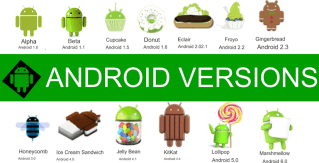 android all versions