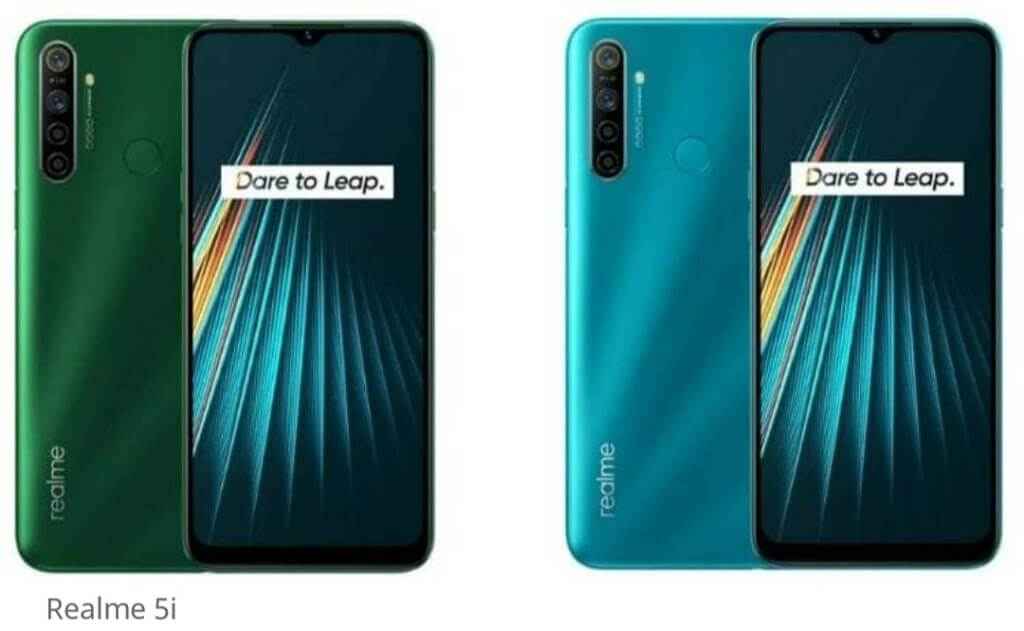 6 January ko launch Hoga Realme 5i SPECIFICATION AND FEATURE 1