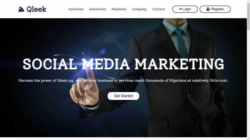 qleek homepage