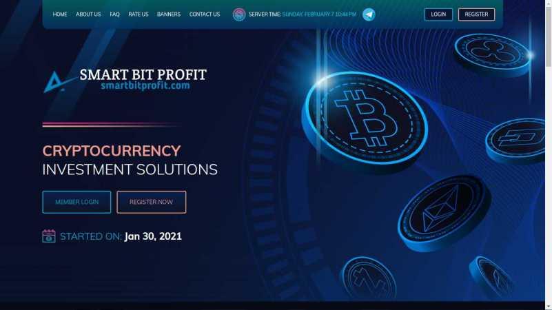 smartbitprofit homepage