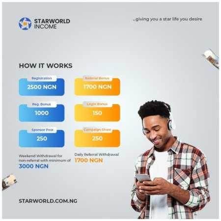 how starworld works