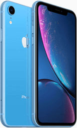 Apple iPhone XR blue color