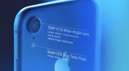 Apple iPhone XR camera lens