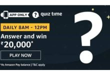 Photo of Answer five easy questions to win Rs 20,000 Amazon Pay Balance