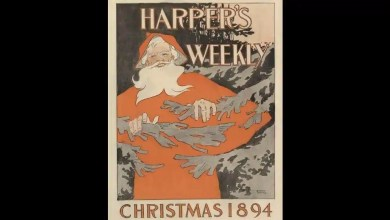 The Met shares pic of over 125-year-old magazine cover for Christmas. Check it out – it s viral