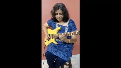 Video of woman jamming out on electric guitar wows netizens. May leave you in awe too – it s viral