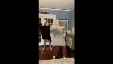 American man and son grab netizens' attention again with peppy dance on O Beta Ji. Watch – it s viral