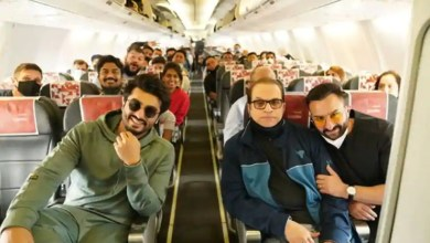 Arjun Kapoor shares pic with Saif Ali Khan as Bhoot Police team leaves for final shoot in Jaisalmer – bollywood