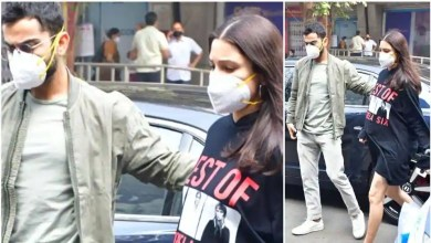 Mom-to-be Anushka Sharma gorges on pizza as she steps out for lunch with husband Virat Kohli, see pics – bollywood