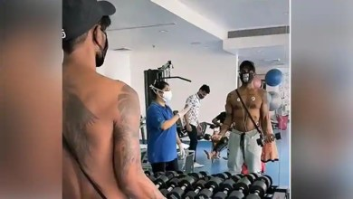 Remo D'Souza is back at the gym after a heart attack, shares video of himself lifting weights – bollywood