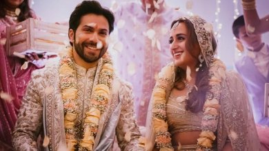 Varun Dhawan Wedding Pictures with Natasha Dalal