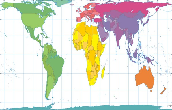 World in the Abstract: Population Normalization