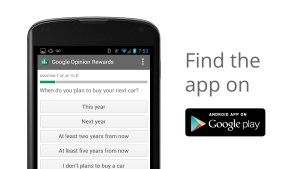 google option rewards