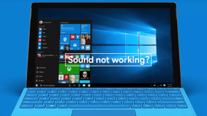 windows 10 sound