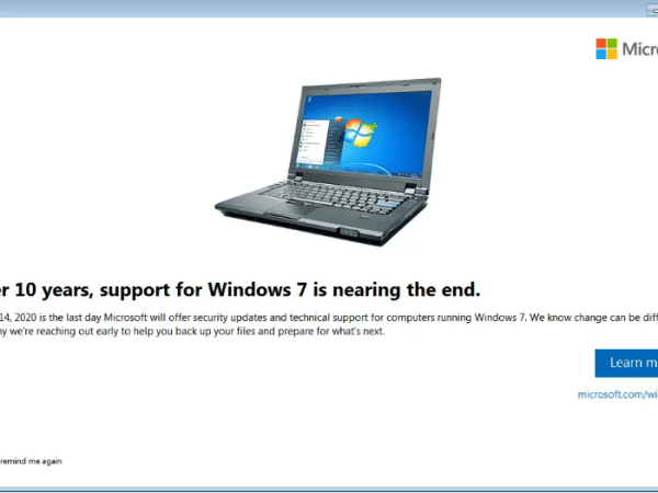 Could Windows 7 End of Life Be Extended?