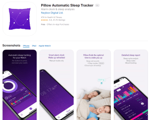 the pillow app