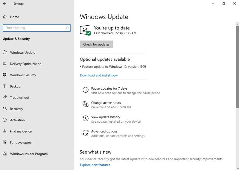 Microsoft begins rolling Windows 10 1909