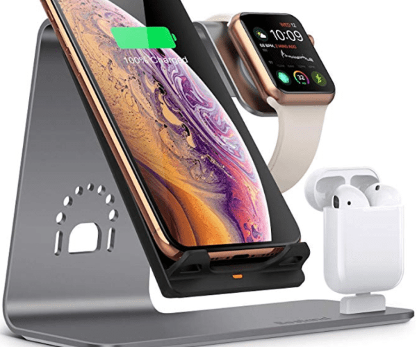 Bestand3 in 1 Apple iWatch Stand