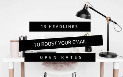 13 Headlines To Boost Your Email Open Rates