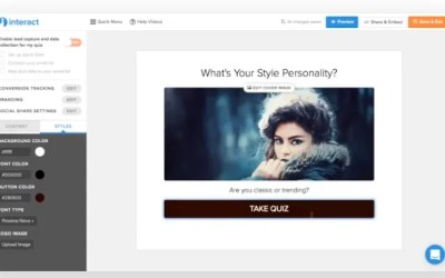 Rapidly Grow Your Email List & Improve Your Business Strategy With Interact Quiz Creator