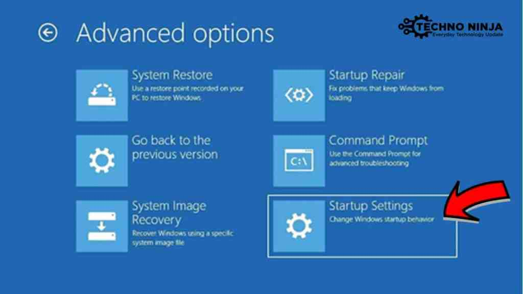 Launch Startup Repair Windows 10