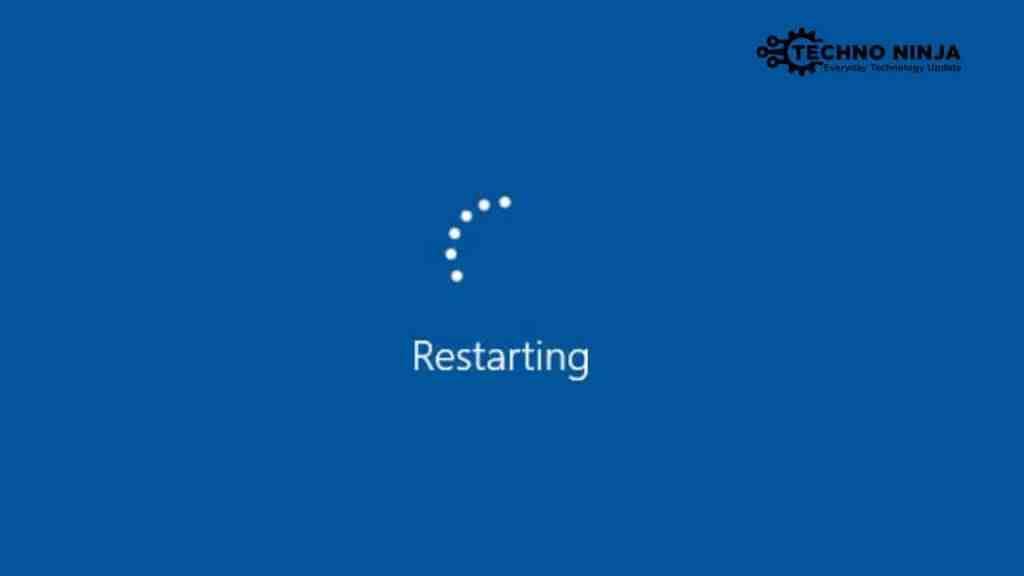 Reboot Windows 10