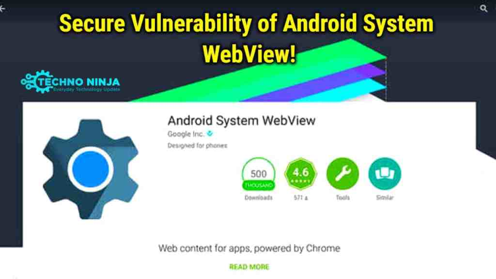 Secure Vulnerability of Android System Webview