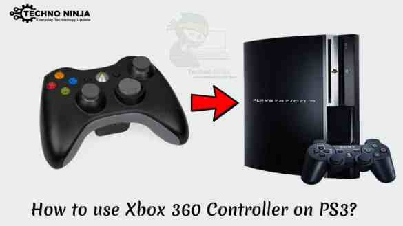 How to use Xbox 360 Controller on PS3
