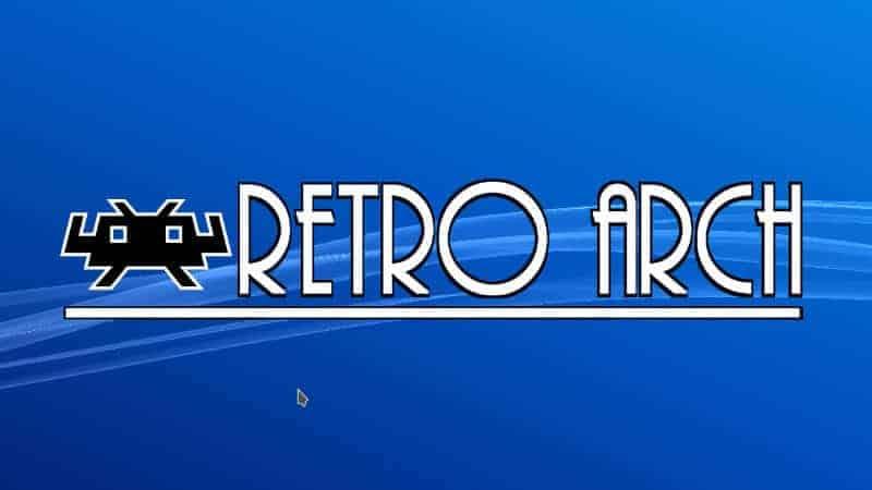 Retro Arch Xbox one emulator