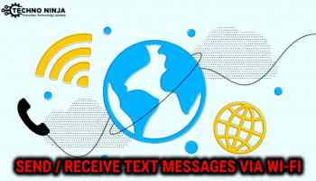android sms over wifi