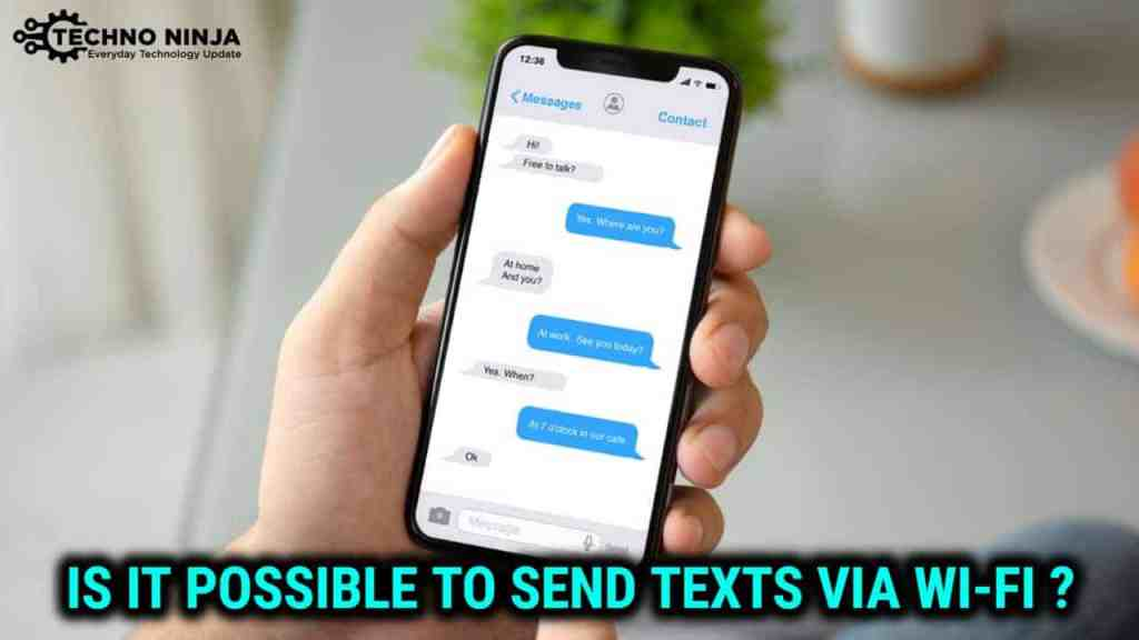 Can an Android Smartphone Send/Receive SMS texts via Wi-Fi?
