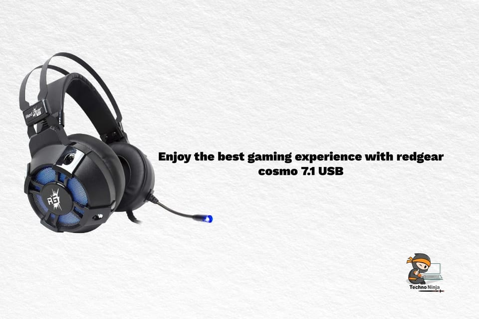 Enjoy the best gaming experience with redgear cosmo 7.1 USB