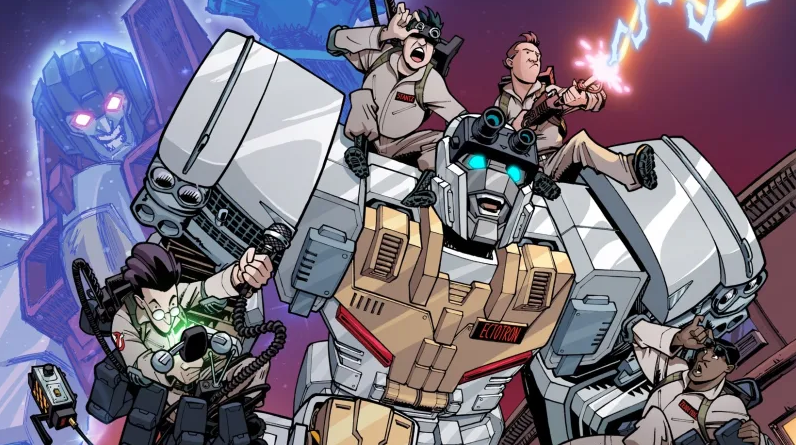 Transformers x Ghostbusters