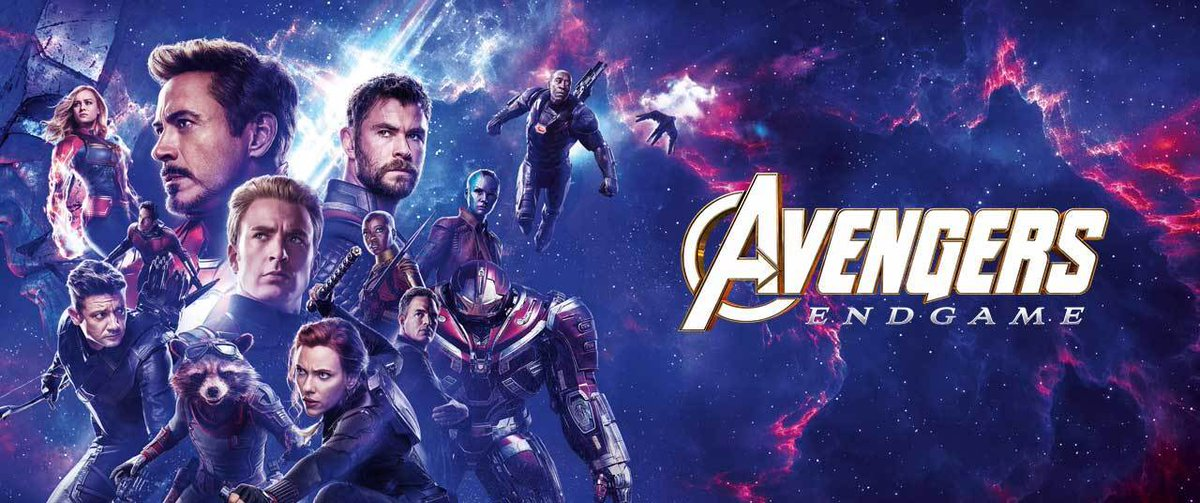 Avengers: Endgame movie review cover image, based on the official movie poster