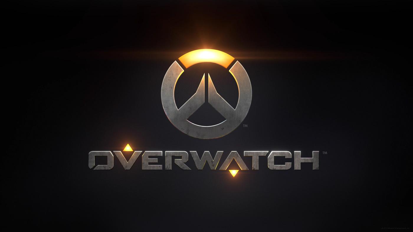 Overwatch header with logo
