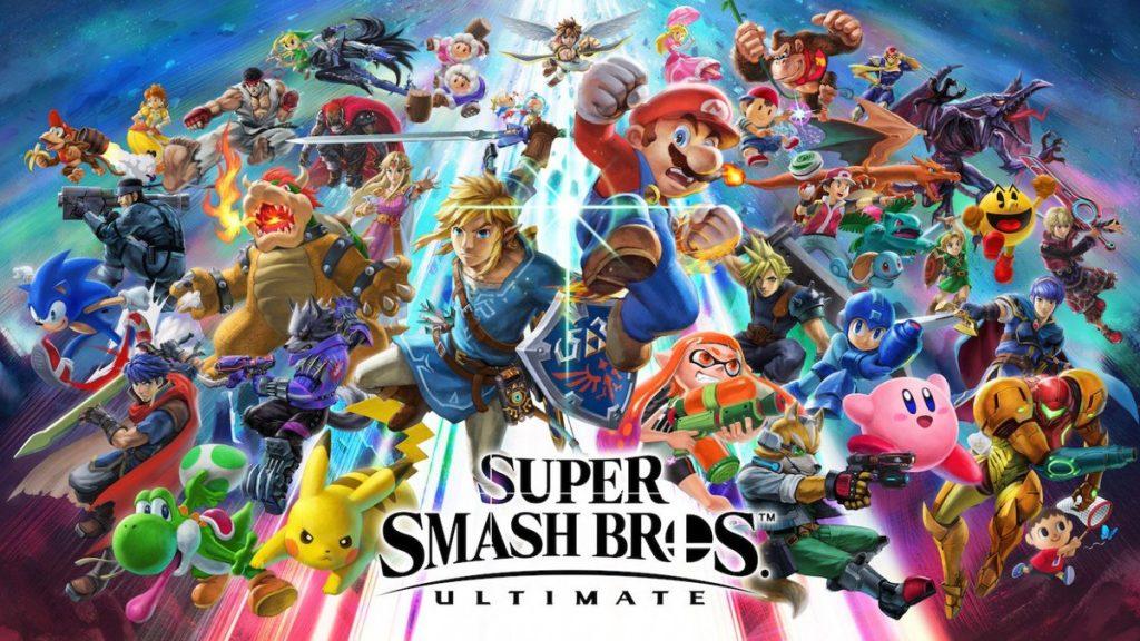 smash bros ultimate cover art