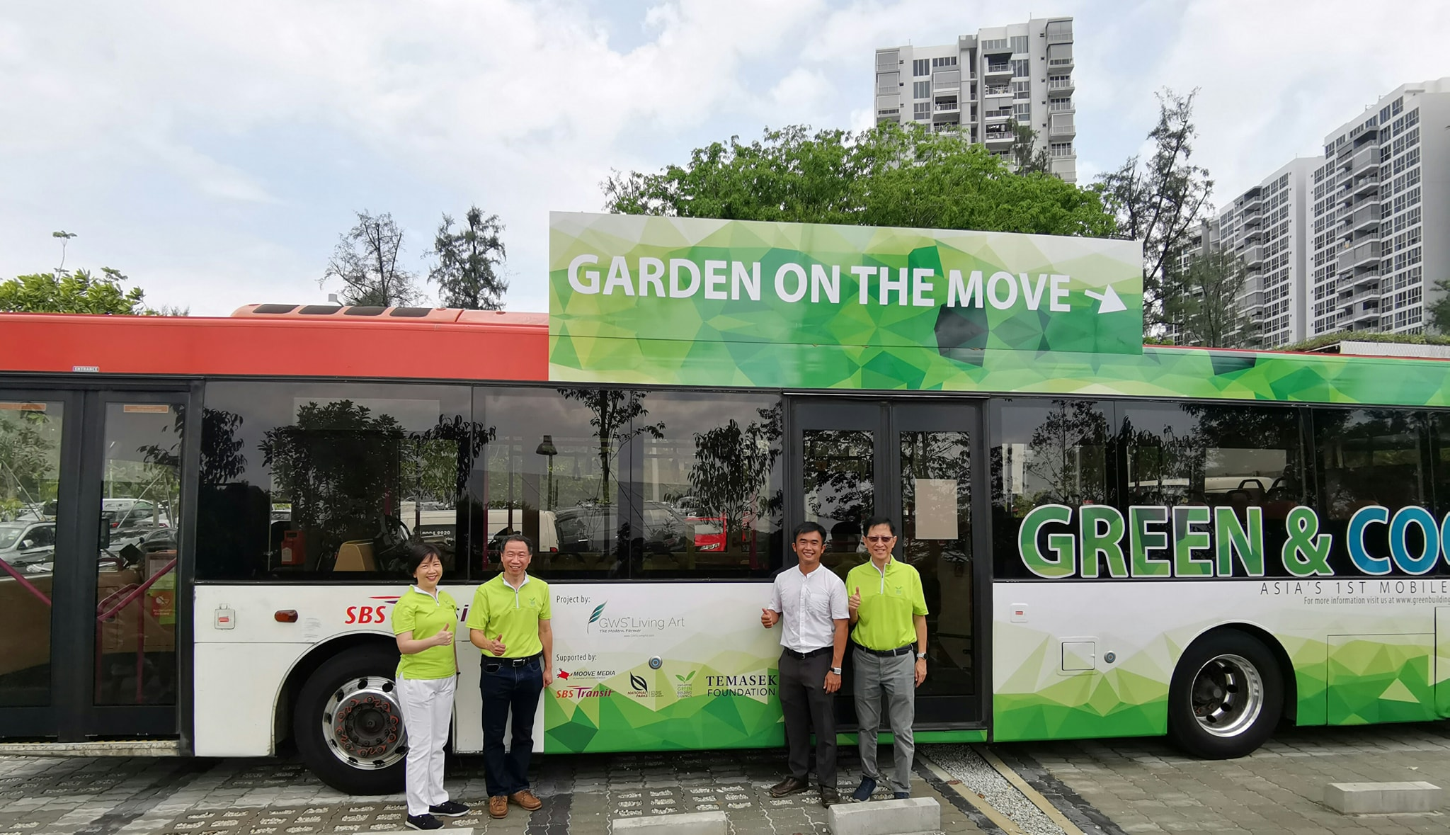 GWS Living Bus Green Roof Bus