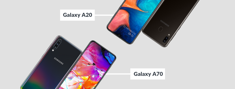 Samsung Galaxy A20 and Galaxy A70 release details