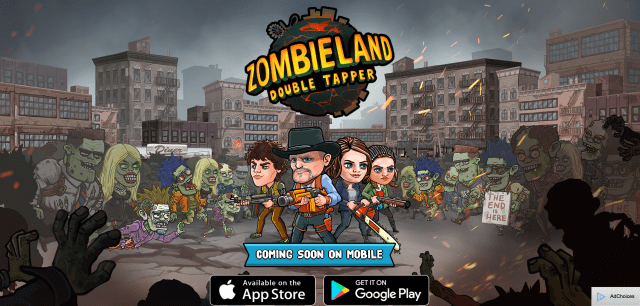 Zombieland: Double Tapper, a new upcoming mobile game.