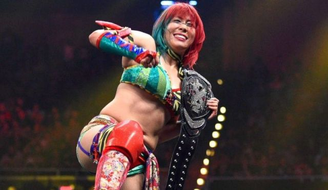 Asuka was the longest reigning NXT Women's champion at a record of 510 days. via Sportskeeda.com