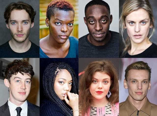 Some of the ensemble cast of the new GoT prequel. via eonline.com
