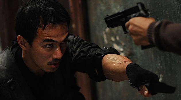 Joe Taslim in The Raid via crypt-teaze.com