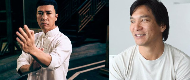 Donnie Yen (left, via scmp.com) and Jason Scott Lee (right, via @JasonScottLee Twitter)