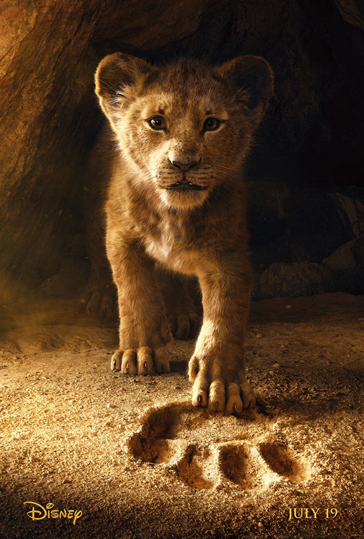 Simba in Lion King poster (via boredpanda.com)