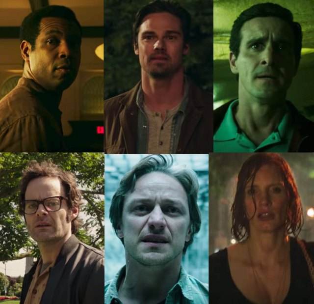 The Losers Club as adults in IT Chapter Two